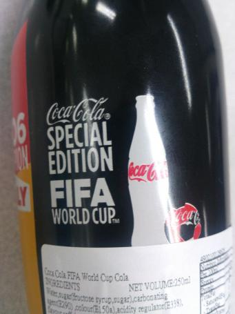 Coca Cola Special Edition FIFA World Cup