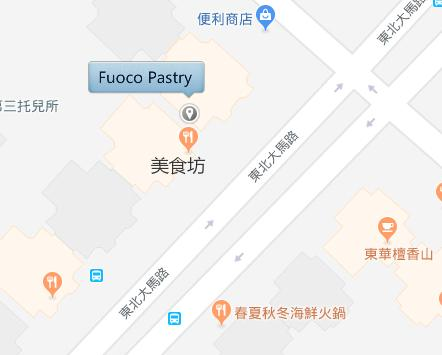 Fuoco Pastry 的地理位置