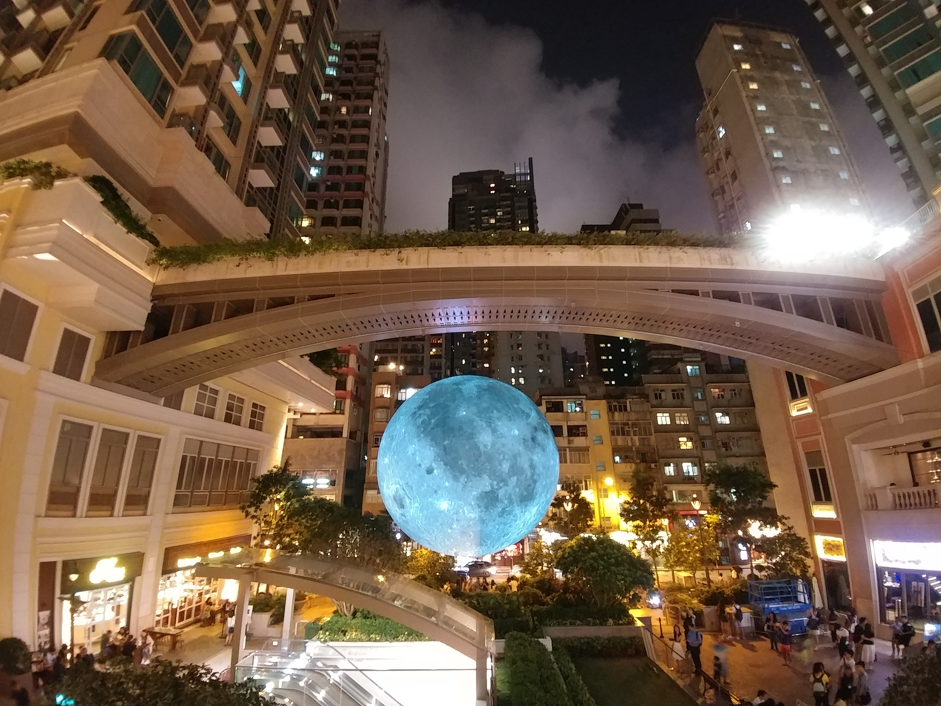 moon in hongkong